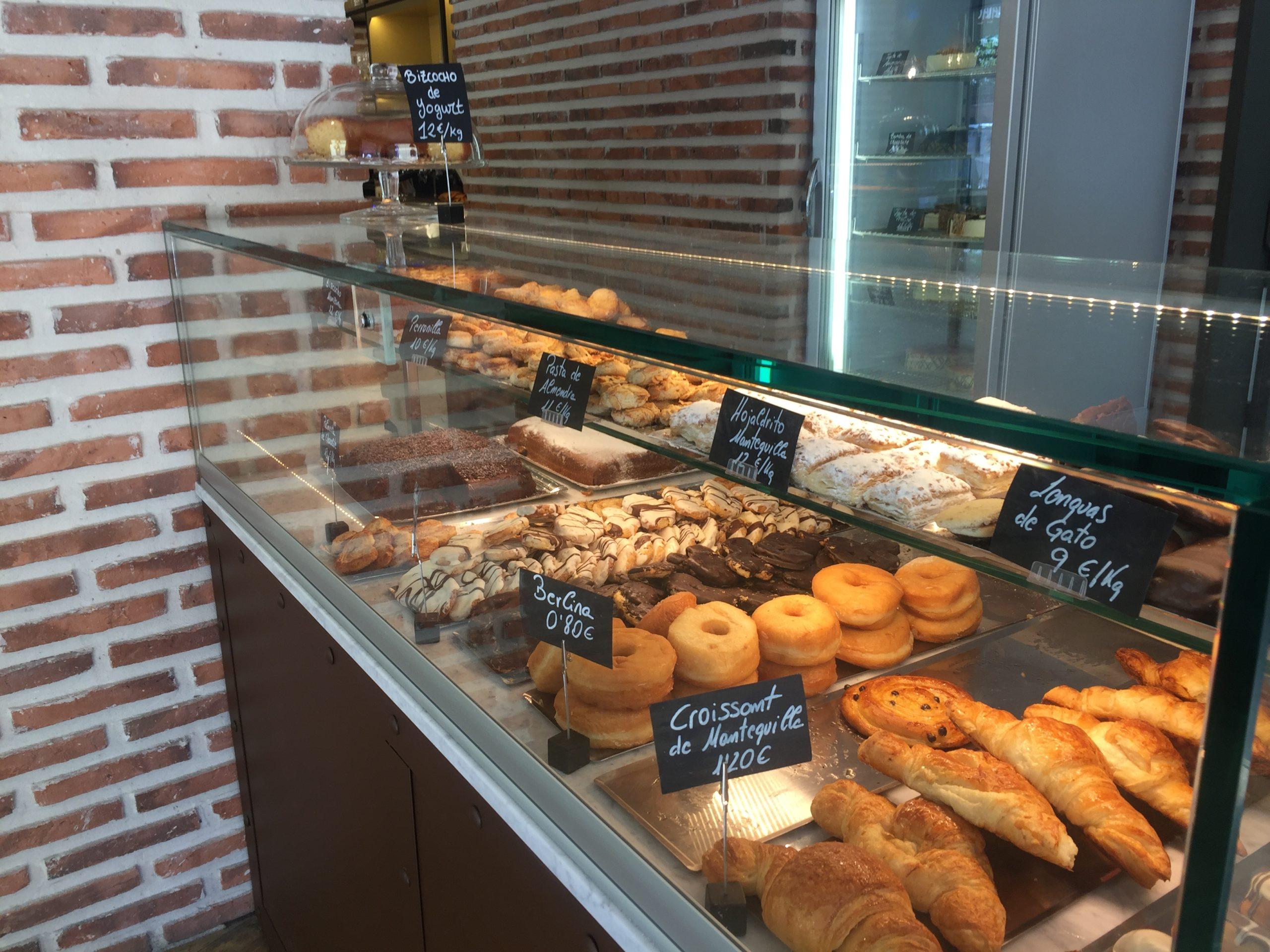 Vitrinas para pastelerías y panaderías