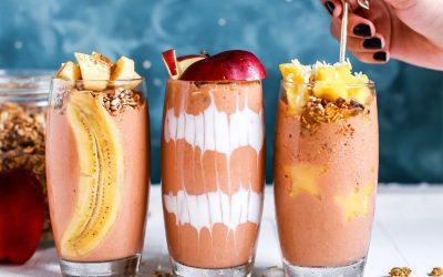 Refrescantes batidos de frutas para el verano